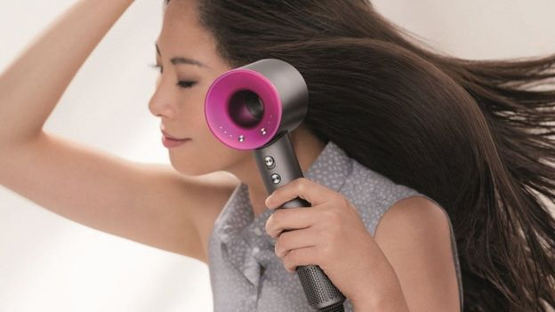 The new Dyson Hairdryer