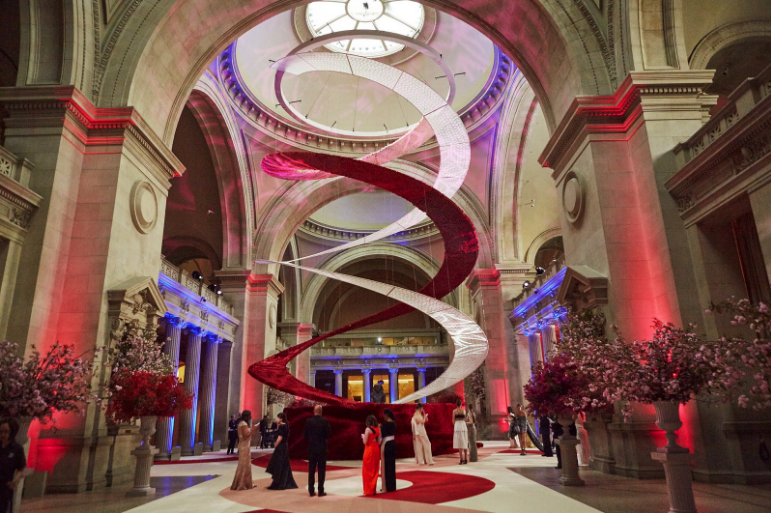 Inside this years MET Gala: A look at the interior of the event