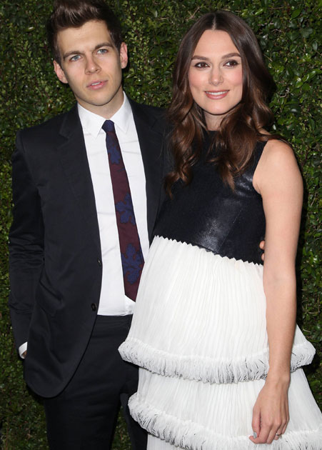 During Kiera Knightly's pregnancy she had much fuller, healthier looking hair