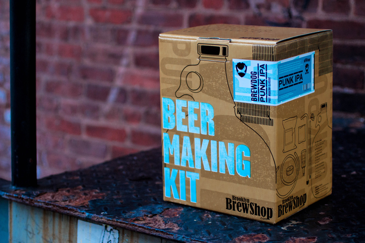Brewdog Punk IPA homebrew kit