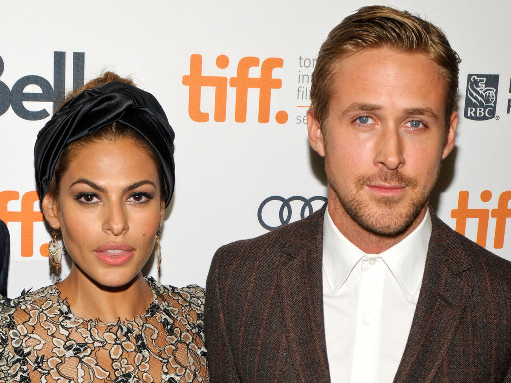 Ryan Gosling and wife Eva Mendes