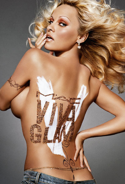 Pamela Anderson for Viva Glam
