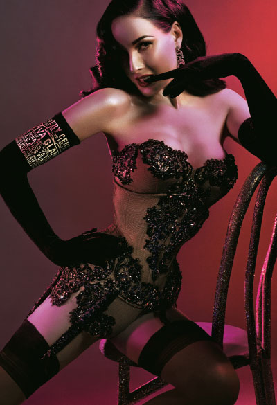 Dita Von Teese for Viva Glam