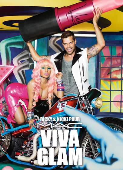 Nicki and Ricky Viva Glam
