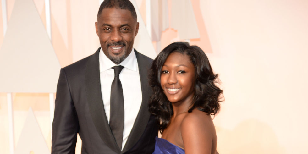 Idris Elba and daughter Isan