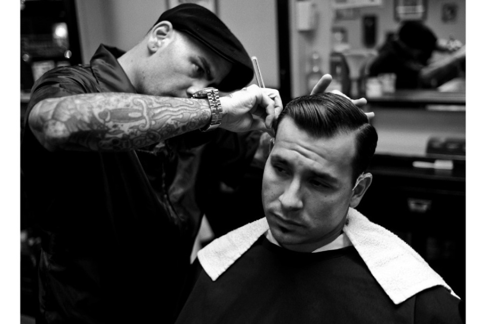 try giving him a barbering experience