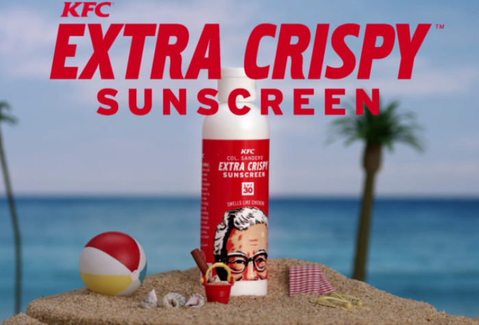 KFC Sun Cream, coming to a Boots near you!