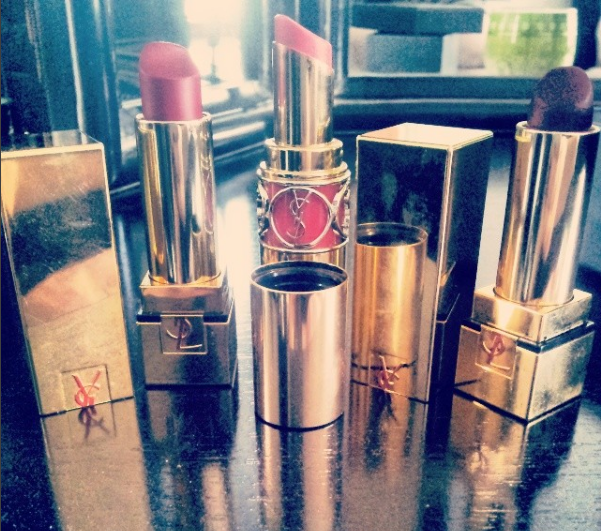 These are the first expensive lipsticks I ever got and I still love these shades. (Instagram: nataly_woods)