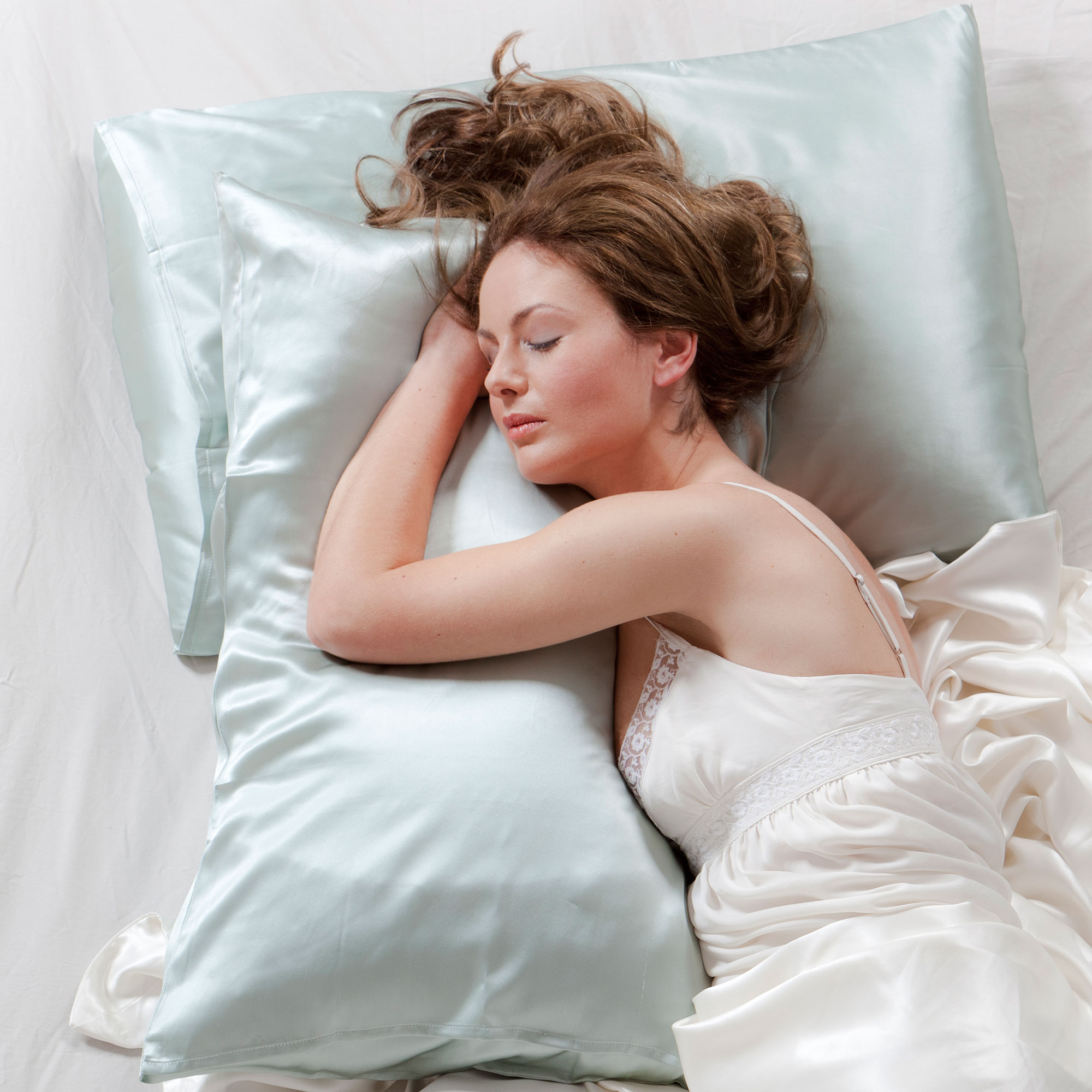 Silk pillowcases are heavily recommended