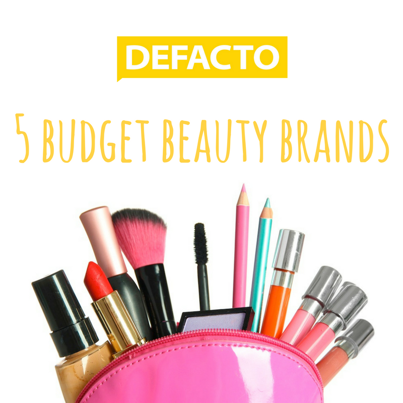 5 budget beauty brands