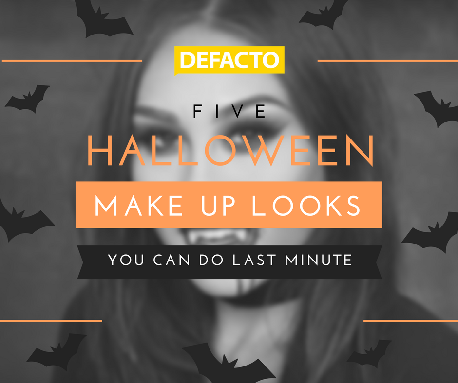 halloween looks you can do with make up